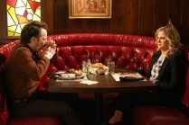 """PARKS AND RECREATION -- """"Ron and Jammy"""" Episode 702 -- Pictured: (l-r) Jon Glaser as Councilman Jamm, Amy Poehler as Amy Poehler -- (Photo by: Danny Feld/NBC)"""