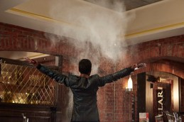 """PARKS AND RECREATION -- """"2017"""" Episode 701 -- Pictured: Aziz Ansari as Tom Haverford -- Photo by: (Ben Cohen/NBC)"""