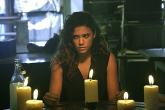 """CONSTANTINE -- """"Quid Pro Quo"""" Episode 110 -- Pictured: Anjelica Celaya as Zed -- (Photo by: Annette Brown/NBC)"""