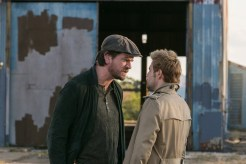 "CONSTANTINE -- ""Quid Pro Quo"" Episode 110 -- Pictured: (l-r) Charles Halford as Chas, Matt Ryan as Constantine -- (Photo by: Tina Rowden/NBC)"