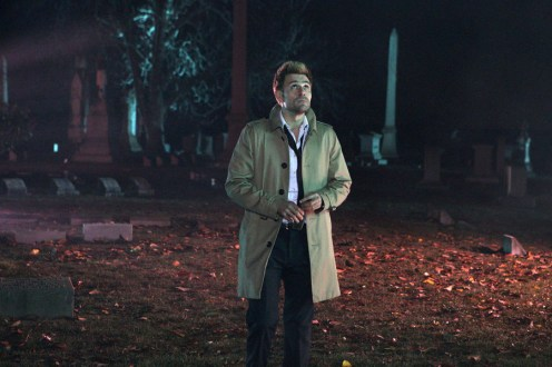 """CONSTANTINE -- """"A Whole World Out There"""" Episode 111 -- Pictured: Matt Ryan as Constantine -- (Photo by: Annette Brown/NBC)"""