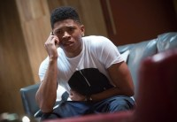 "EMPIRE: Hakeem (Bryshere Gray) is upset in the ""Dangerous Bonds"" episode of EMPIRE airing Wednesday, Feb. 4 (9:00-10:00 PM ET/PT) on FOX. ©2014 Fox Broadcasting Co. CR: Chuck Hodes/FOX"