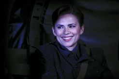 "MARVEL'S AGENT CARTER - ""The Iron Ceiling"" - Peggy is finally trusted with a mission and calls upon her trusted Howling Commandos squad for backup. But her cover could be at risk when SSR Chief Dooley also sends Agent Thompson with her, on ""Marvel's Agent Carter,"" TUESDAY, FEBRUARY 3 (9:00-10:00 p.m., ET) on the ABC Television Network. (ABC/Matt Kennedy) HAYLEY ATWELL"
