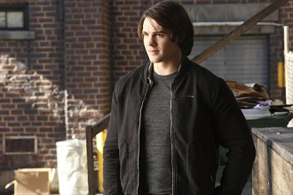 """The Vampire Diaries -- """"Stay"""" -- Image Number: VD614c_0360.jpg -- Pictured: Steven R. McQueen as Jeremy -- Photo: Annette Brown/The CW -- © 2015 The CW Network, LLC. All rights reserved."""