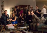 "GLEE: L-R Front Row: Artie (Kevin McHale), Tina (Jenna Ushkowitz), Mercedes (Amber Riley), Kurt (Chris Colfer) and Blaine (Darren Criss) in the special two-hour ""2009/Dreams Come True"" Series Finale episode of GLEE airing Friday, March 20 (8:00-10:00 PM ET/PT) on FOX. ©2015 Fox Broadcasting Co. CR: Adam Rose/FOX"