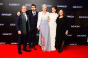 PHOTOS: Veronica Roth, Shailene Woodley, & Theo James Debut 'Insurgent' at London World Premiere