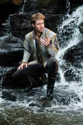 Chris Pine is the Prince in Disney's humorous and heartfelt musical INTO THE WOODS directed by Rob Marshall and produced by John DeLuca, Rob Marshall, Marc Platt and Callum McDougall.