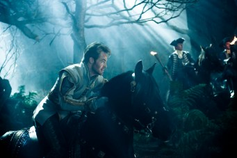 Chris Pine as Cinderella's Prince in Disney's humorous and heartfelt musical INTO THE WOODS, directed by Rob Marshall and produced by John Deluca, Rob Marshall, Marc Platt and Callum MacDougall.