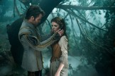 Chris Pine is the Prince and Anna Kendrick is Cinderella in Disney's humorous and heartfelt musical INTO THE WOODS directed by Rob Marshall and produced by John DeLuca, Rob Marshall, Marc Platt and Callum McDougall.
