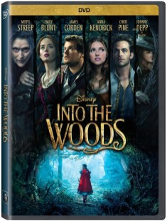 Disney's Into the Woods DVD image.