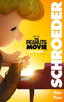 Peanuts Movie in theaters November 6, 2015 (Schroeder)