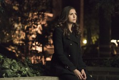 """The Vampire Diaries -- """"I Never Could Love Like That"""" -- Image Number: VD618a_0110.jpg -- Pictured: Nina Dobrev as Elena -- Photo: Tina Rowden/The CW -- © 2015 The CW Network, LLC. All rights reserved."""