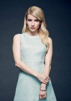 """SCREAM QUEENS: Emma Roberts joins the cast of SCREAM QUEENS, a new genre-bending comedy-horror anthology series from Ryan Murphy, Brad Falchuk, Ian Brennan and Dante Di Loreto, the executive producers of GLEE and """"America Horror Story"""". SCREAM QUEENS 15-Episode First Installment to Premiere Fall 2015 on FOX. ©2014 Fox Broadcasting Co. Cr: Tommy Garcia/FOX"""
