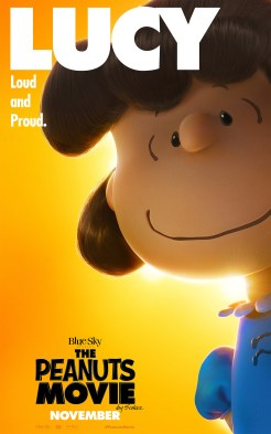 Peanuts Movie in theaters November 6, 2015 (Lucy)