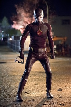 """The Flash -- """"Fast Enough"""" -- Image FLA123C_0587b -- Pictured: Grant Gustin as The Flash -- Photo: Dean Buscher/The CW -- © 2015 The CW Network, LLC. All rights reserved"""
