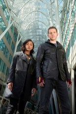 MINORITY REPORT: MINORITY REPORT premieres this Fall on FOX. Pictured L-R: Meagan Good as Detective Vega and Stark Sands as Dash. CR: Bruce Macaulay. FOX Broadcasting.