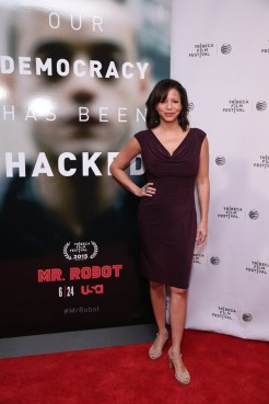 "MR. ROBOT -- ""Tribeca Film Festival Premiere of ""MR. ROBOT"" in New York, NY on Sunday, April 26, 2015 "" -- Pictured: Gloria Rueben -- (Photo by: Neilson Barnard/USA Network)"