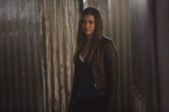 "The Vampire Diaries -- ""I'm Thinking of You All The While"" -- Image Number: VD622c_0147.jpg -- Pictured: Nina Dobrev as Elena -- Photo: Annette Brown/The CW -- © 2015 The CW Network, LLC. All rights reserved."