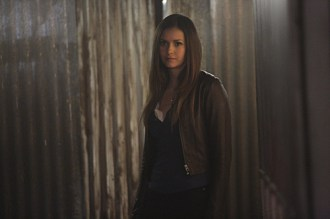 """The Vampire Diaries -- """"I'm Thinking of You All The While"""" -- Image Number: VD622c_0147.jpg -- Pictured: Nina Dobrev as Elena -- Photo: Annette Brown/The CW -- © 2015 The CW Network, LLC. All rights reserved."""