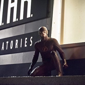"""The Flash -- """"Rogue Air"""" -- Image FLA122C_0220b -- Pictured: Grant Gustin as Barry Allen / The Flash -- Photo: Dean Buscher /The CW -- �© 2015 The CW Network, LLC. All rights reserved."""