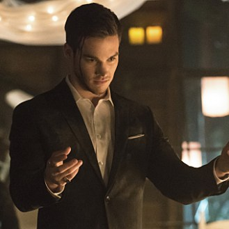 """The Vampire Diaries -- """"I'm Thinking of You All The While"""" -- Image Number: VD622a_0729.jpg -- Pictured: Chris Wood as Kai -- Photo: Tina Rowden/The CW -- �© 2015 The CW Network, LLC. All rights reserved."""