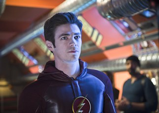 """The Flash -- """"Fast Enough"""" -- Image FLA123A_0086b -- Pictured: Grant Gustin as Barry Allen / The Flash -- Photo: Diyah Pera/The CW -- © 2015 The CW Network, LLC. All rights reserved."""