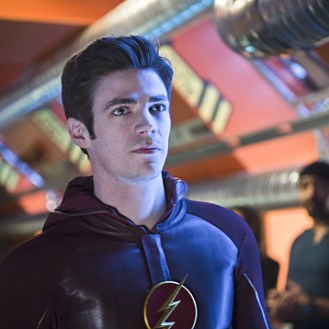 """The Flash -- """"Fast Enough"""" -- Image FLA123A_0086b -- Pictured: Grant Gustin as Barry Allen / The Flash -- Photo: Diyah Pera/The CW -- �© 2015 The CW Network, LLC. All rights reserved."""