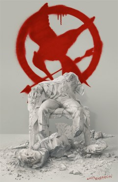 PHOTO: President Snow Doesn't Fare So Well in New 'Mockingjay Part 2' Poster