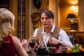 "HANNIBAL -- ""Antipasto"" Episode 301 -- Pictured: Mads Mikkelsen as Dr. Hannibal Lecter -- (Photo by: Brooke Palmer/NBC)"