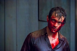 "HANNIBAL -- ""Primavera"" Episode 302 -- Pictured: Hugh Dancy as Will Graham -- (Photo by: Brooke Palmer/NBC)"