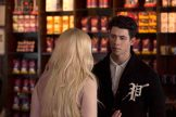 """SCREAM QUEENS: Pictured L-R: Abigail Breslin as Chanel #5 and guest star Nick Jonas as Boone in """"Hell Week,"""" the second part of the special, two-hour series premiere of SCREAM QUEENS airing Tuesday, Sept. 22 (8:00-10:00 PM ET/PT) on FOX. ©2015 Fox Broadcasting Co. Cr: Steve Dietl/FOX."""