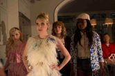 """SCREAM QUEENS: Pictured L-R: Abigail Breslin as Chanel #5, Emma Roberts as Chanel Oberlin, Skyler Samuels as Grace, Keke Palmer as Zayday and Jeanna Han as Sam in """"Pilot,"""" the first part of the special, two-hour series premiere of SCREAM QUEENS airing Tuesday, Sept. 22 (8:00-10:00 PM ET/PT) on FOX. ©2015 Fox Broadcasting Co. Cr: Steve Dietl/FOX."""