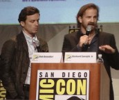 Supernatural SDCC 2015 Panel; Rob Benedict and Richard Speight Jr.; Photo Credit: We So Nerdy