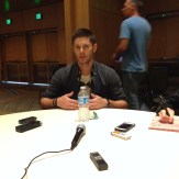 Supernatural Cast Interview at SDCC 2015 with Jensen Ackles; Photo Credit: We So Nerdy