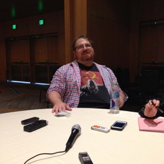 Supernatural Interview at SDCC 2015 with Andrew Dabb; Photo Credit: We So Nerdy