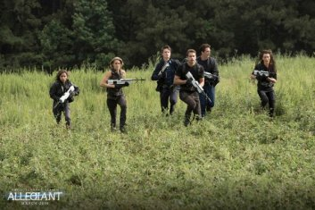 New 'Allegiant' Images & 'The Divergent Series' Updates