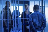 "Arrow -- ""A.W.O.L."" -- Image AR411b_0207b.jpg -- Pictured (L-R): David Ramsey as John Diggle, Cynthia Addai-Robinson as Amanda Waller, Eugene Byrd as Andy Diggle and Audrey Marie Anderson as Lyla Michaels -- Photo: Liane Hentscher/ The CW -- © 2016 The CW Network, LLC. All Rights Reserved."