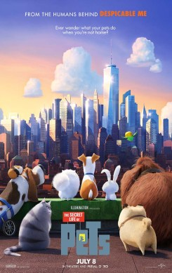"Theatrical Poster #1 from Illumination Entertainment and Universal Pictures animated film ""The Secret Life of Pets"". Photo Credit: Universal Pictures"