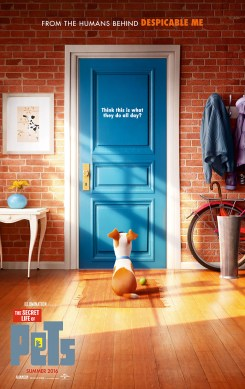 """Theatrical Poster #2 from Illumination Entertainment and Universal Pictures animated film """"The Secret Life of Pets"""". Photo Credit: Universal Pictures"""