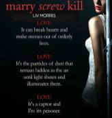 COVER REVEAL: 'Marry, Screw, Kill' by Liv Morris