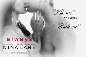 COVER REVEAL: 'Always' by Nina Lane