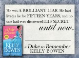 RELEASE DAY BLITZ: 'A Duke to Remember' by Kelly Bowen