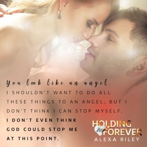 BOOK REVIEW: 'Holding His Forever' by Alexa Riley--4 STARS