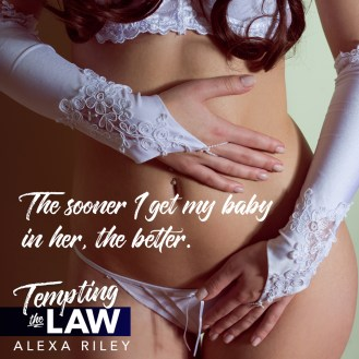 SPOTLIGHT: 'Tempting The Law' by Alexa Riley
