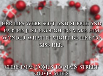 SPOTLIGHT: 'Christmas Comes to Main Street' by Olivia Miles