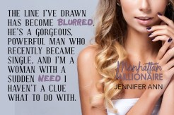 SPOTLIGHT: 'Manhattan Millionaire' by Jennifer Ann