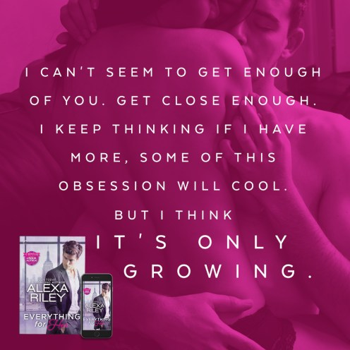 SPOTLIGHT/REVIEW: 'Everything For Her' by Alexa Riley
