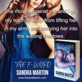 SPOTLIGHT: 'The F-Word' by Sandra Marton