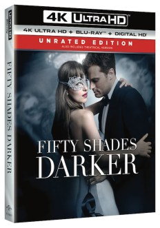 'Fifty Shades Darker' Available on DVD/Blu-ray in May