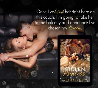 SPOTLIGHT: 'Stolen Princess' by Alexa Riley